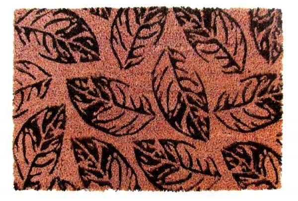 Rohož PVC & kokos 40x60, Leaves
