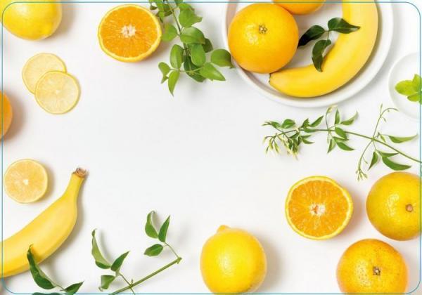 Stolové prostírání 430 x280 mm, PP, Lemon