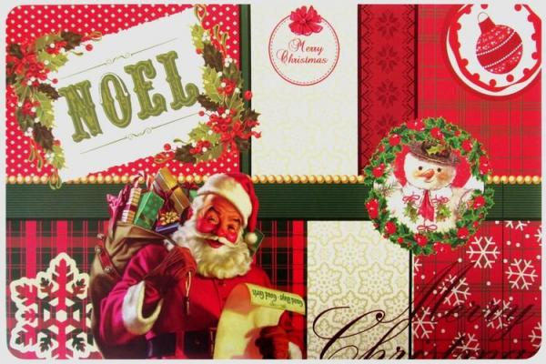 Stolové prostírání vánoční NOEL