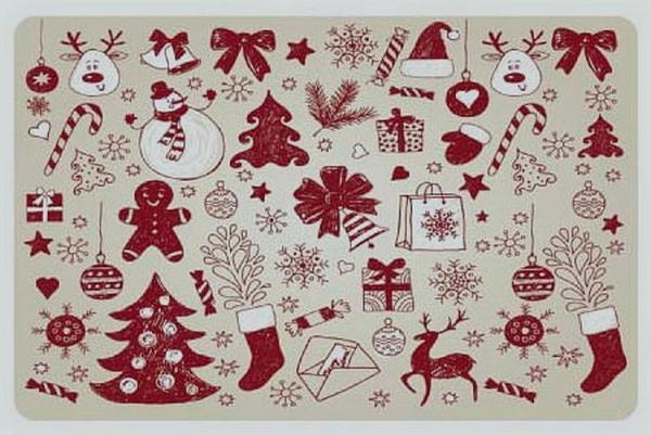 Stolové prostírání vánoční #4
