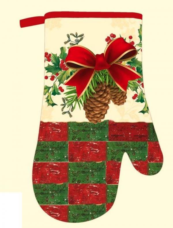 Kuchyňská rukavice, FS23, vánoční